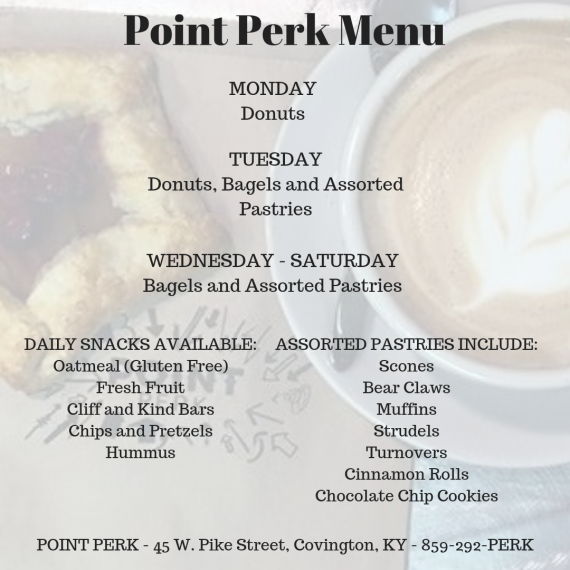 Point Perk Coffee Shop - The Point Arc Serving Northern